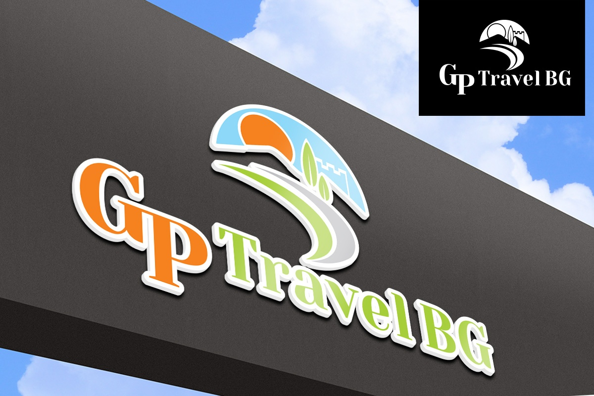 Изготвяне на лого бранд: GP Travel бранш: туристически агенции, Булбранд Медия ООД