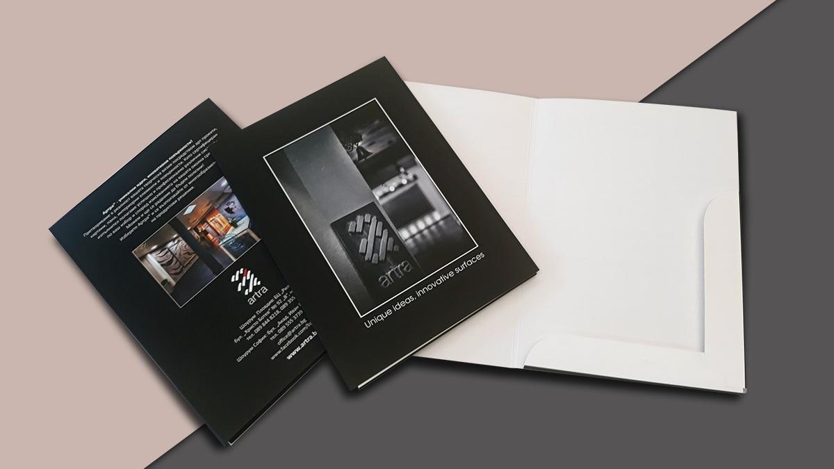 Печат на папки Артра, Булбранд Медия