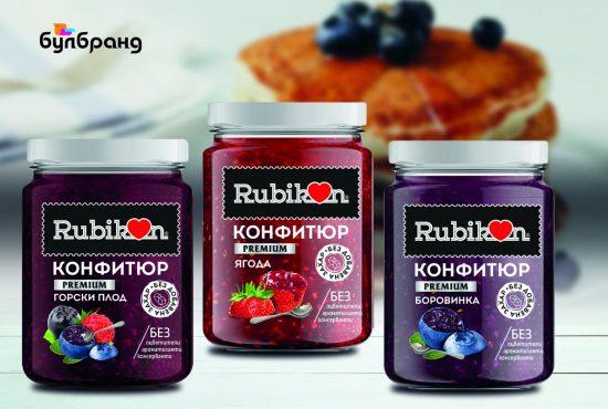 Дизайн на етикети, различни видове, клиент: Рубикон, Булбранд Медия ООД