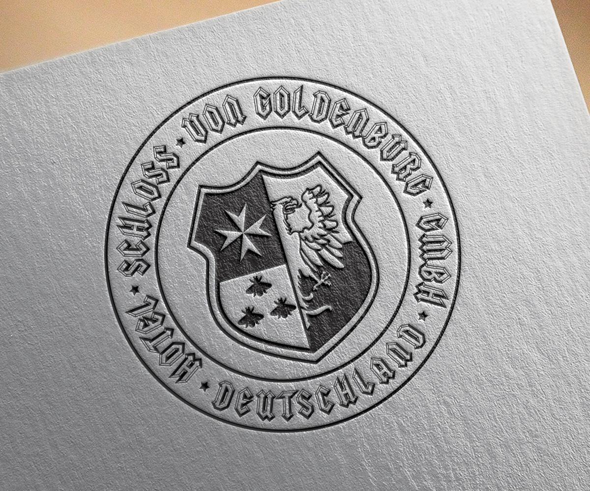 Изготвяне на лого за печат бранд: Hotel SCHLOSS Von Goldenburg бранш: хотелиерство, Булбранд Медия ООД