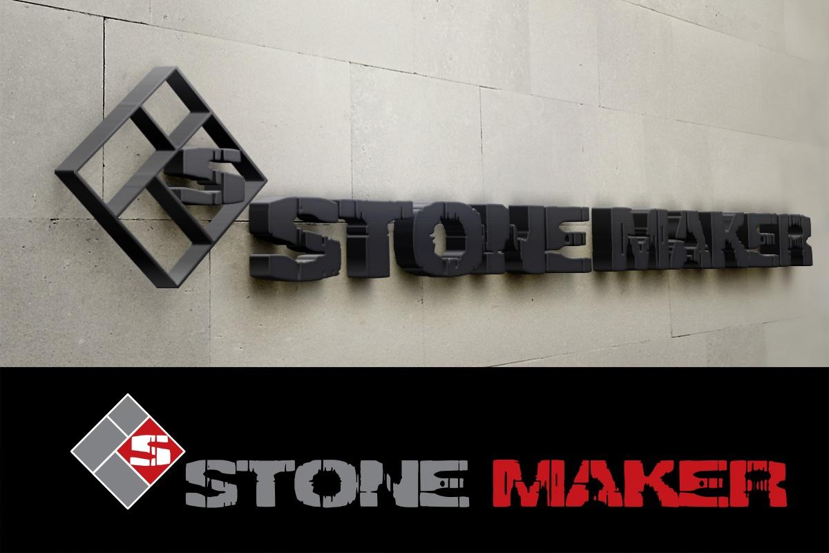 Изготвяне на лого бранд: Stone Maker бранш: производство на декоративни камъни и тухли, Булбранд Медия ООД